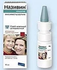 Називин-Сенситив: терапия простудных болезней, аналоги, аннотация