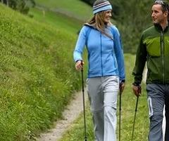 Комплексное воздействие скандинавской ходьбы на здоровье