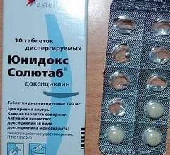Выбор подходящих дозировок таблеток Юнидокс Солютаб
