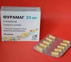 Побочные симптомы, отмечавшиеся во время лечения Фурамаг
