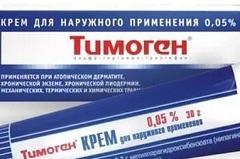 Как эффективно применять крем Тимоген