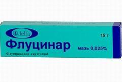 Лекарственное взаимодействие препарата Флуцинар