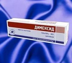 Димексид гель: эффективность новой формы лекарства, аннотация