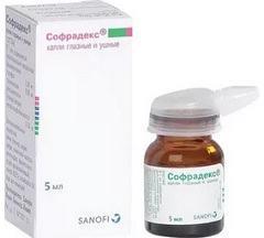 Софрадекс капли: эффективны при конъюнктивите аллергического генеза
