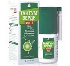 Тантум-Верде Форте: успешно лечим ангину, аннотация