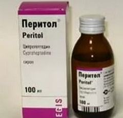 Сочетаемость с другими лекарствами сиропа Перитол