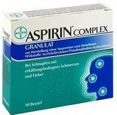 Наблюдавшееся побочное действие пакетиков Аспирин-Комплекс