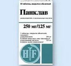 Панклав таблетки: эффективность при бронхите, аналоги, аннотация