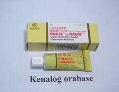 Использование для лечения мази Кеналог