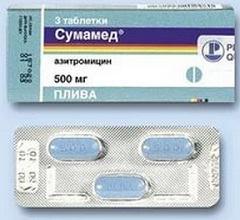 Сколько раз пить таблетки Сумамед