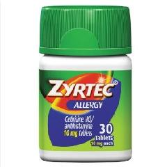 Зиртек - эффективное антигистаминное средство