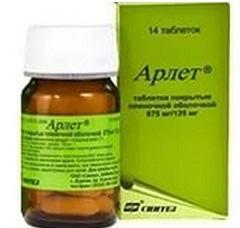 Арлет таблетки: лечение тонзиллита, пневмонии, аннотация, аналоги