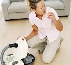 Какие симптомы аллергии можно предотвратить уборкой пылесосом