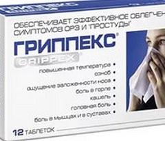 Гриппекс: помощь при симптоматике гриппа, аннотация, аналоги