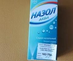 Признаки возникновения передозировки спреем Назол-Аква