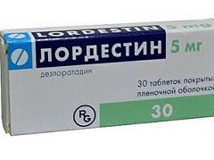 Лордестин: антиаллергические лечебные свойства препарата, аннотация