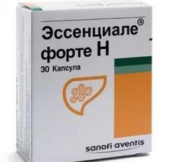 Эссенциале Форте Н: гепатопротективная терапия псориаза капсулами