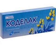 Коделак таблетки: облегчение кашля при трахеите, ларингите