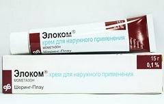 Элоком крем: эффективность при атопическом дерматите, аннотация