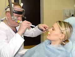 Диагностика хронического этмоидита - задняя риноскопия