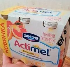 Вкусовые особенности напитка Актимель