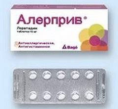 Алерприв: обсуждаем аналоги, аннотация, использование в аллергологии