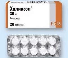 Халиксол таблетки: использование при бронхите, аналоги, аннотация