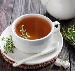 Чай с чабрецом: облегчение кашля при бронхите, эмфиземе