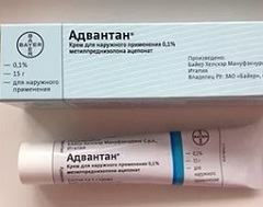 Адвантан мазь: помощь при дерматите, экземе, инструкция