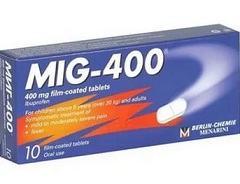 Какие побочные проявления МИГ 400 известны