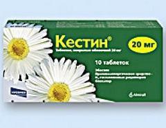 Кестин: эффективность назначения в аллергологии