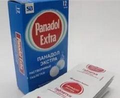 Какие побочные действия Панадол-Экстра возможны